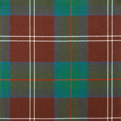 Chisholm Hunting Ancient Heavy Weight Tartan Fabric-Front