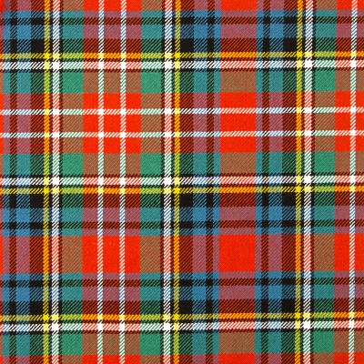 Christie Ancient Heavy Weight Tartan Fabric-Front
