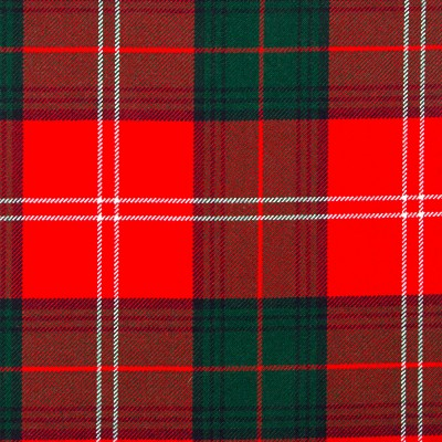 Chisholm Clan Modern Heavy Weight Tartan Fabric-Front