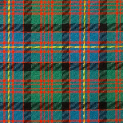 Cameron of Erracht Ancient Heavy Weight Tartan Fabric-Front
