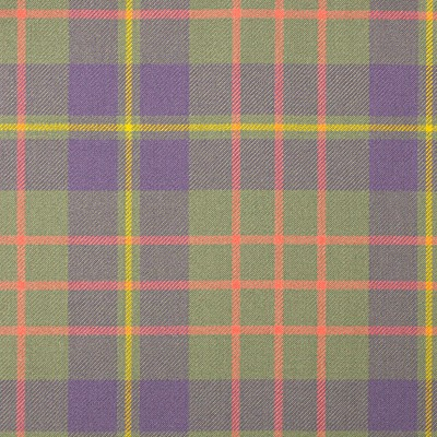 Cameron Hunting Ancient Heavy Weight Tartan Fabric-Front