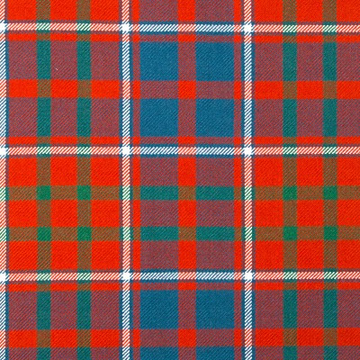 Cameron of Lochiel Ancient Heavy Weight Tartan Fabric-Front