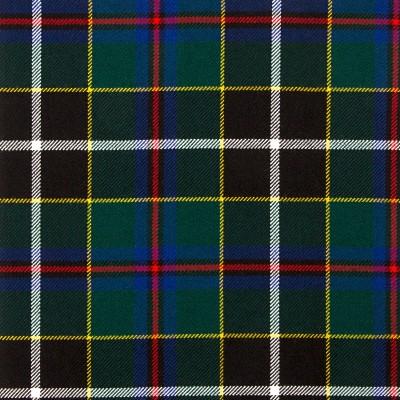 Cornish Hunting Modern Heavy Weight Tartan Fabric-Front