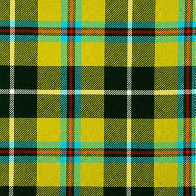 Cornish National Heavy Weight Tartan Fabric-Front
