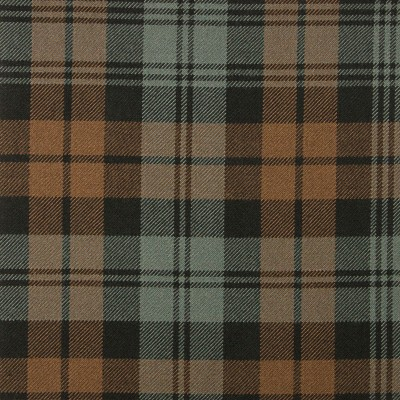 Campbell Clan Weathered Heavy Weight Tartan Fabric-Front