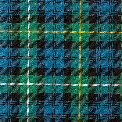 Campbell of Argyll Ancient Heavy Weight Tartan Fabric-Front