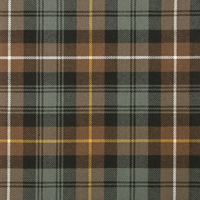Campbell of Argyll Weathered Heavy Weight Tartan Fabric-Front
