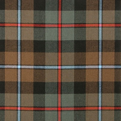 Campbell of Cawdor Weathered Heavy Weight Tartan Fabric-Front