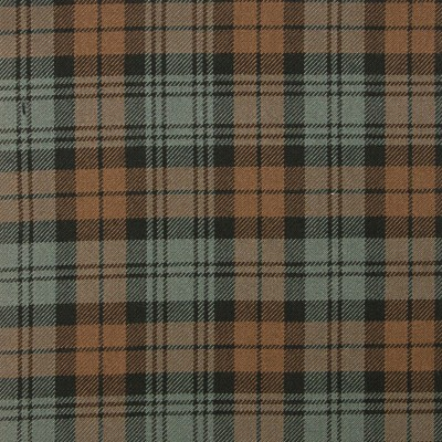 Campbell Old Weathered Heavy Weight Tartan Fabric-Front