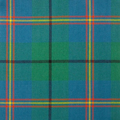 Carmichael Ancient Heavy Weight Tartan Fabric-Front