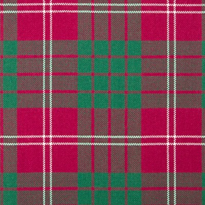 Crawford Ancient Heavy Weight Tartan Fabric-Front
