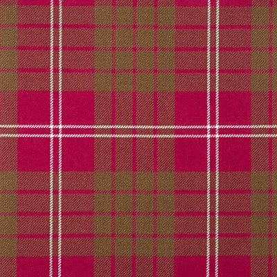 Crawford Weathered Heavy Weight Tartan Fabric-Front