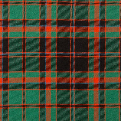 Cumming Hunting Ancient Heavy Weight Tartan Fabric-Front