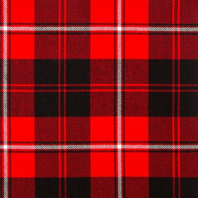 Cunningham Modern Heavy Weight Tartan Fabric-Front