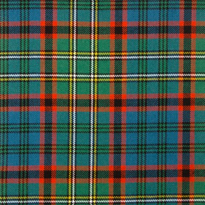 Cunningham Hunting Ancient Heavy Weight Tartan Fabric-Front