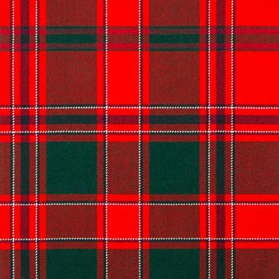 Dalziel Modern Heavy Weight Tartan Fabric-Front