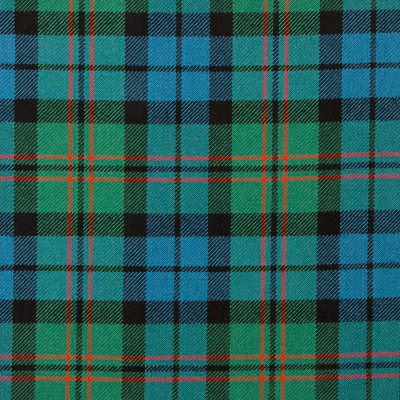 Dundas Ancient Heavy Weight Tartan Fabric-Front