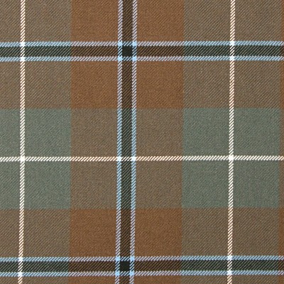 Douglas Weathered Heavy Weight Tartan Fabric-Front