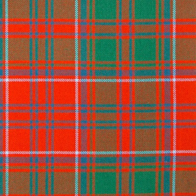 Drummond Clan Ancient Heavy Weight Tartan Fabric-Front