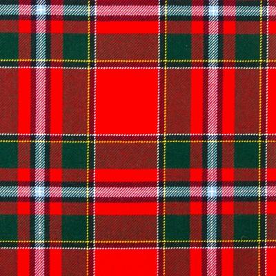 Drummond of Perth Modern Heavy Weight Tartan Fabric-Front
