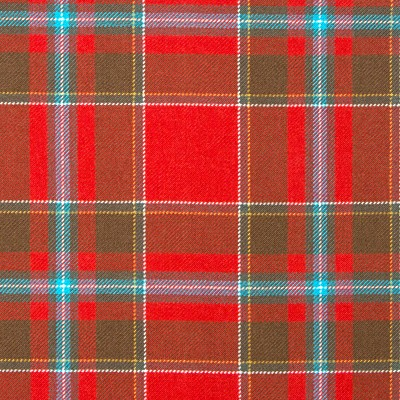 Drummond of Perth Weathered Heavy Weight Tartan Fabric-Front