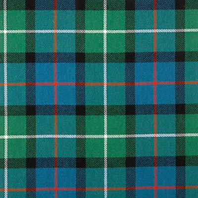 Davidson of Tulloch Ancient Heavy Weight Tartan Fabric-Front