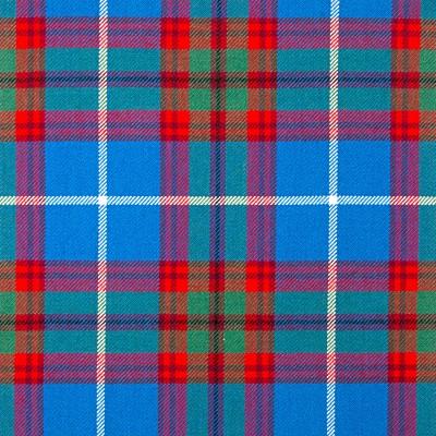 Edinburgh Heavy Weight Tartan Fabric-Front