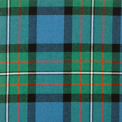 Ferguson Ancient Heavy Weight Tartan Fabric-Front