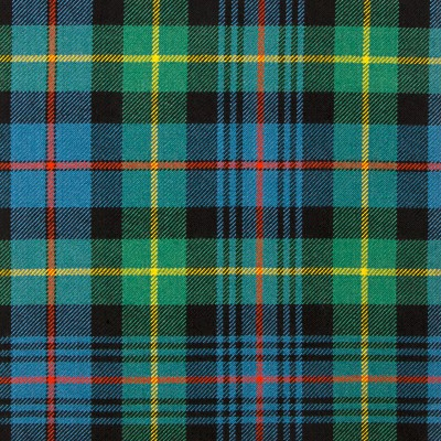 Farquharson Ancient Heavy Weight Tartan Fabric-Front