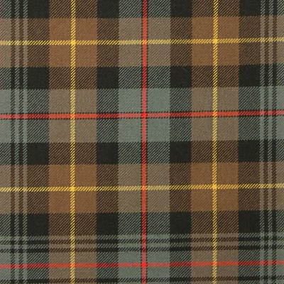 Farquharson Weathered Heavy Weight Tartan Fabric-Front