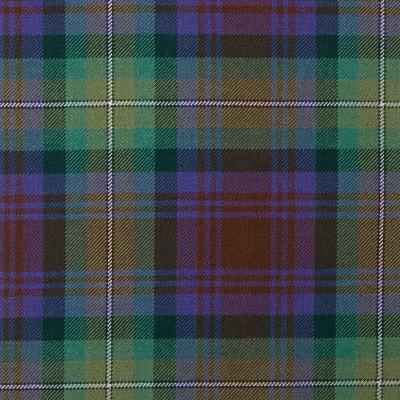 Isle of Skye Heavy Weight Tartan Fabric-Front