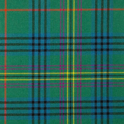 Kennedy Ancient Heavy Weight Tartan Fabric-Front