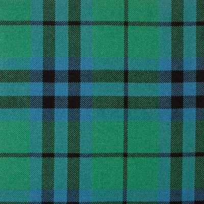 Keith Ancient Heavy Weight Tartan Fabric-Front