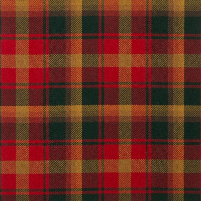Maple Leaf Heavy Weight Tartan Fabric-Front