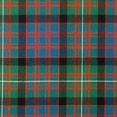 MacDonald of Glengarry Ancient Heavy Weight Tartan Fabric-Front