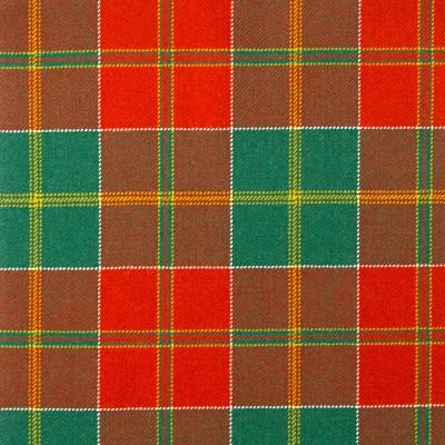 MacDonald of Kingsburgh Heavy Weight Tartan Fabric-Front