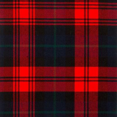 MacLachlan Modern Heavy Weight Tartan Fabric-Front