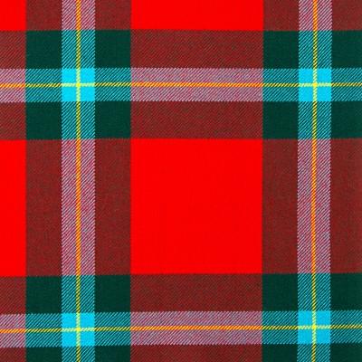 MacLaine of Lochbuie Modern Heavy Tartan Fabric-Front
