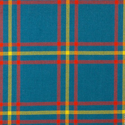 MacLaine of Lochbuie Hunting Ancient Heavy Weight Tartan Fabric-Front