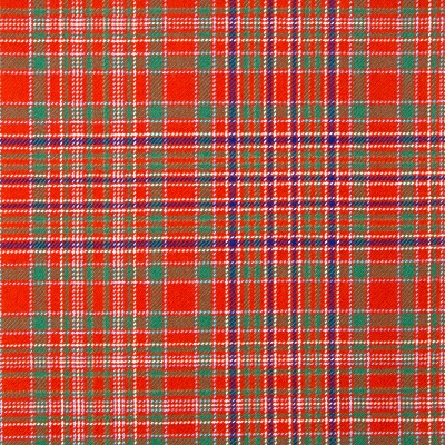 MacAlister Ancient Heavy Weight Tartan Fabric-Front