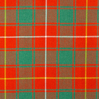 MacPhie Ancient Heavy Weight Tartan Fabric-Front