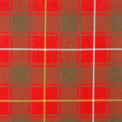 MacPhie Weathered Heavy Weight Tartan Fabric-Front