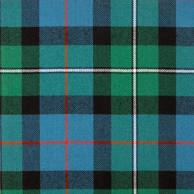 MacPhail Hunting Ancient Heavy Weight Tartan Fabric-Front