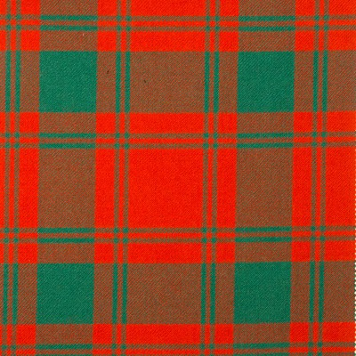 MacQuarrie Ancient Heavy Weight Tartan Fabric-Front