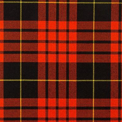 MacQueen Ancient Heavy Weight Tartan Fabric-Front