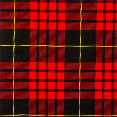 MacQueen Modern Heavy Weight Tartan Fabric-Front