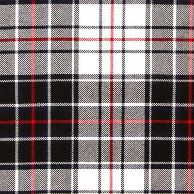 MacRae Dress Modern Heavy Weight Tartan Fabric-Front