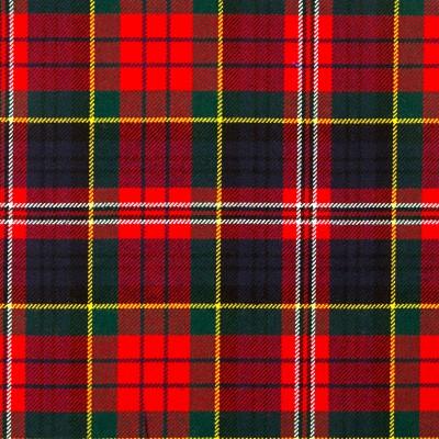 MacPherson Clan Modern Heavy Weight Tartan Fabric-Front
