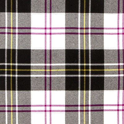 MacPherson Dress Ancient Heavy Weight Tartan Fabric-Front