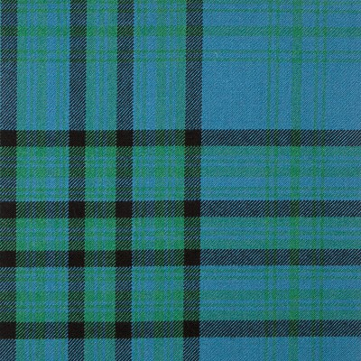 Matheson Hunting Ancient Heavy Weight Tartan Fabric-Front